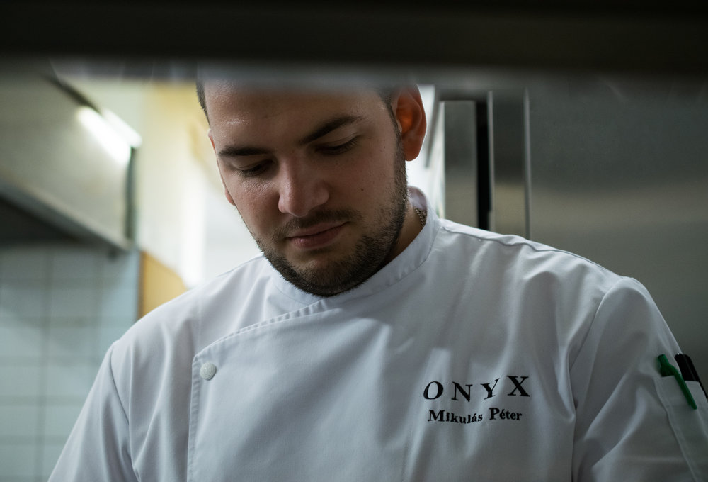 """PÉTER MIKULÁS  sous-chef - """"We do everything for the team and the guests."""""""