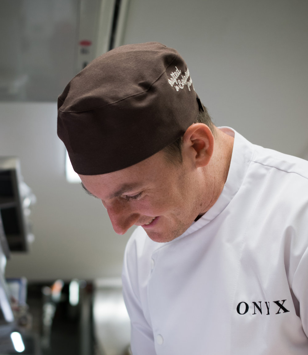 "RÓBERT MÁRTHA  pastry chef - ""It is really an elevating feeling to create something lasting in the world."""