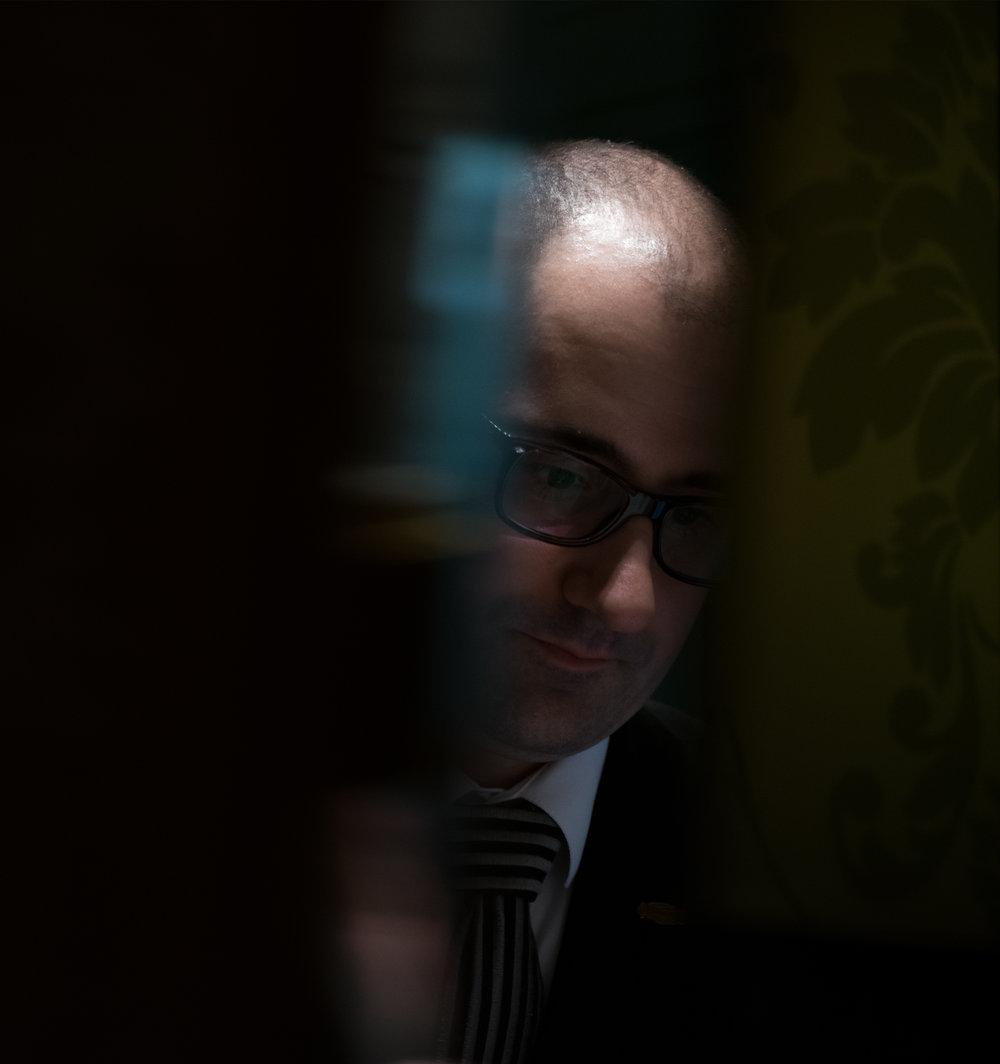 "BALÁZS SALLAY  restaurant manager - ""Giving the maximum unnoticed."""