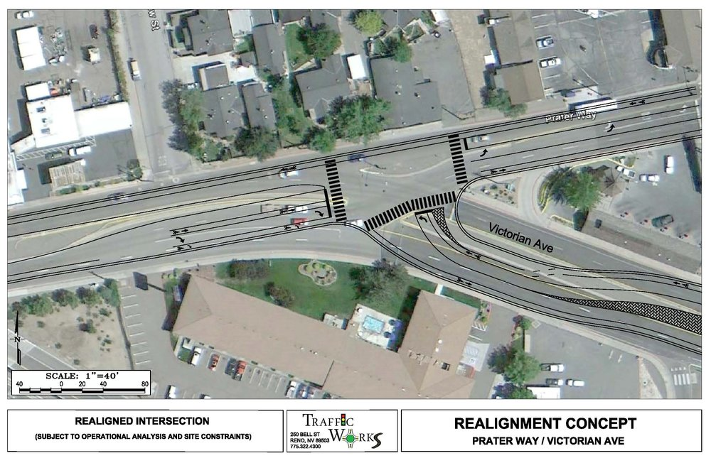 4th St / Prater Way BRT Corridor Study & Final Design - Reno & Sparks, NV