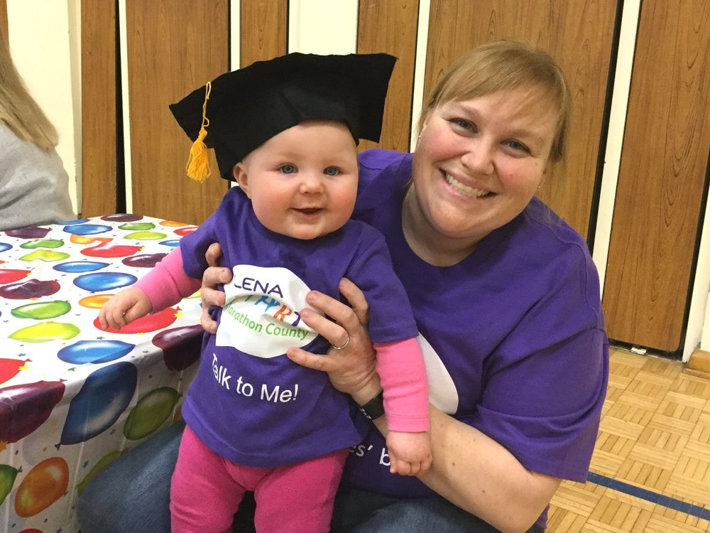 About - We are a public-private partnership of organizations working together to offer LENA Start classes in Marathon County. These classes teach families how to use conversation to build babies' brains.