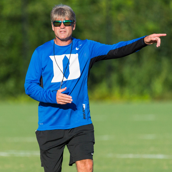 'Working with GoPlay is easy. Our team was looked after from start to finish' - John KerrMen's Soccer - Duke University