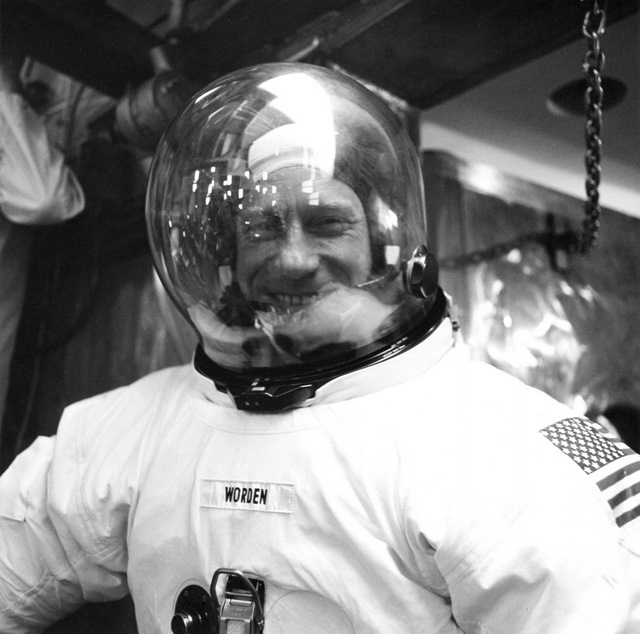 Training for Apollo 15, 1971.