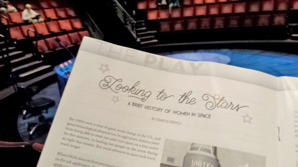 My article in the play's program.