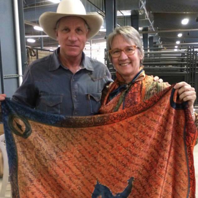 Jamie Kalvestran - with Buck Brannaman and the Original Houlihan