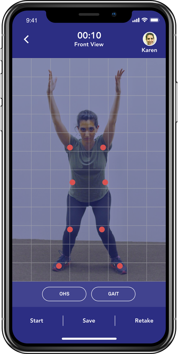 Train Effectively & Safely - Your body & posture movements are also captured for assessment. Any deficiencies are factored into your hyper-personalized exercise program for better results.