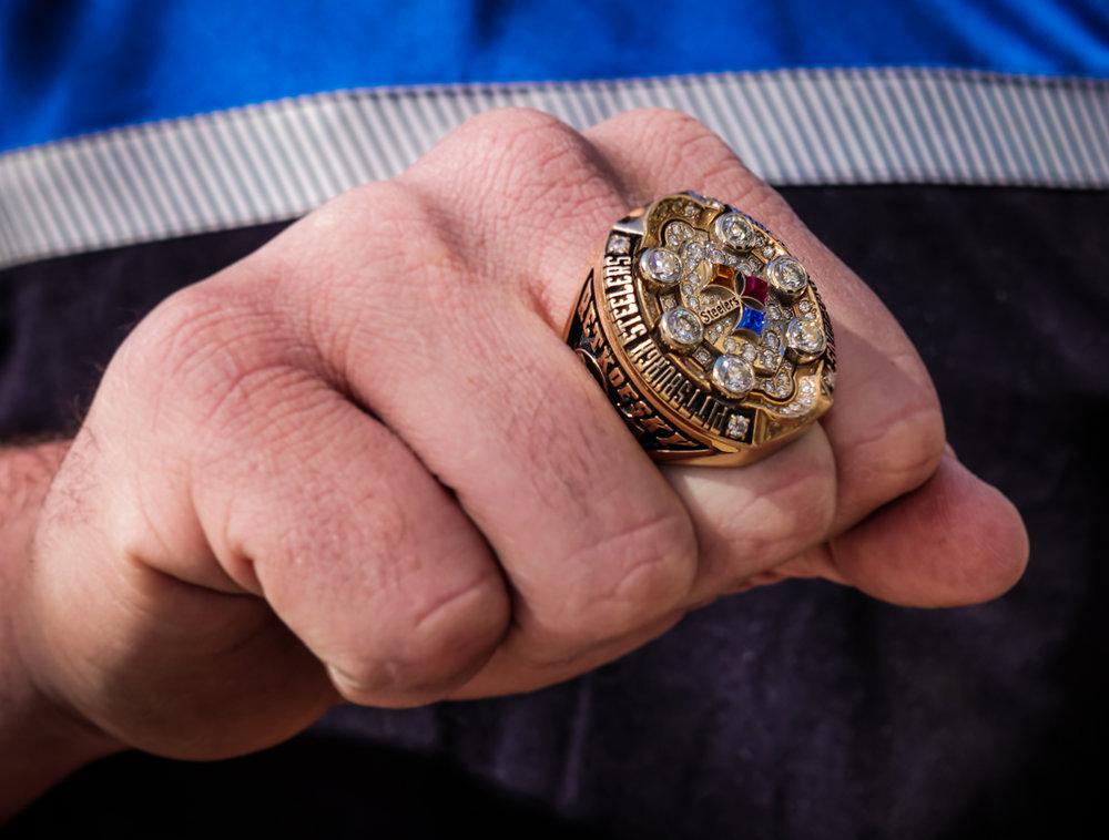 Jared Retkofsky's Super Bowl 43 ring