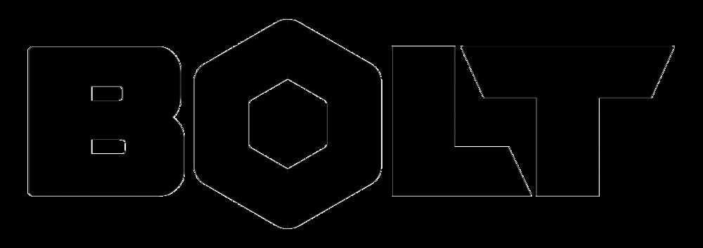 Bolt Logo (Black on Transparent)