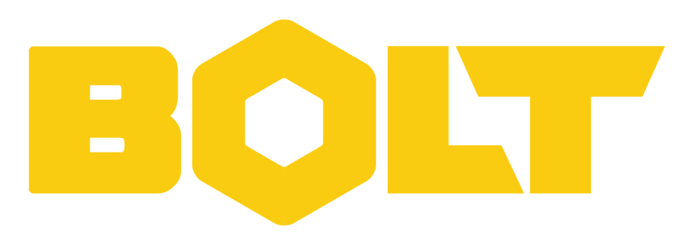 Bolt Logo (Yellow on Transparent)
