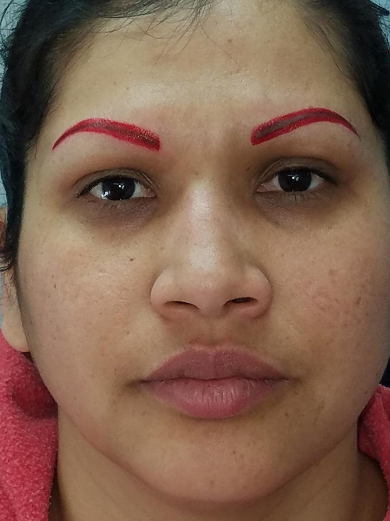 2018 Another eyebrow shape.