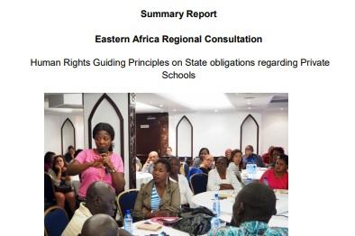 Eastern Africa Regional Consultation - Summary ReportNairobi, September 5-7, 2016