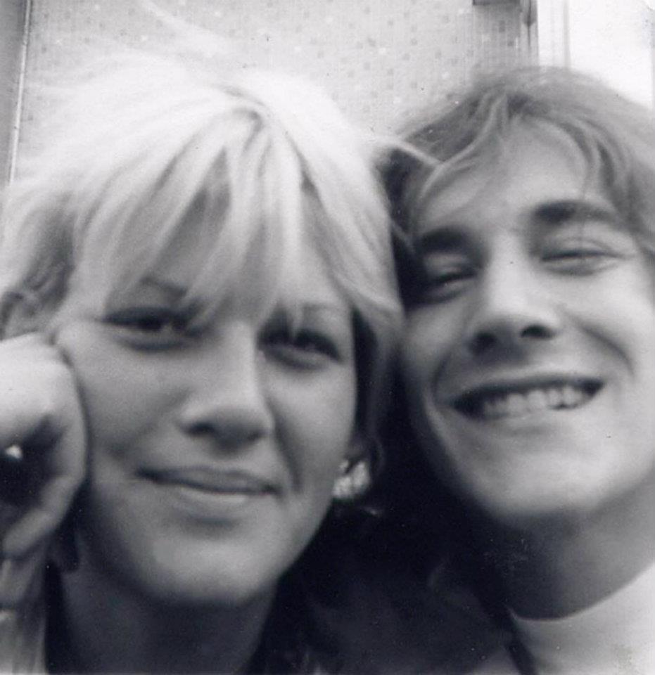 Rick Vito and Bonnie Bramlett 1971