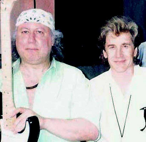 Rick and Peter Green 1999