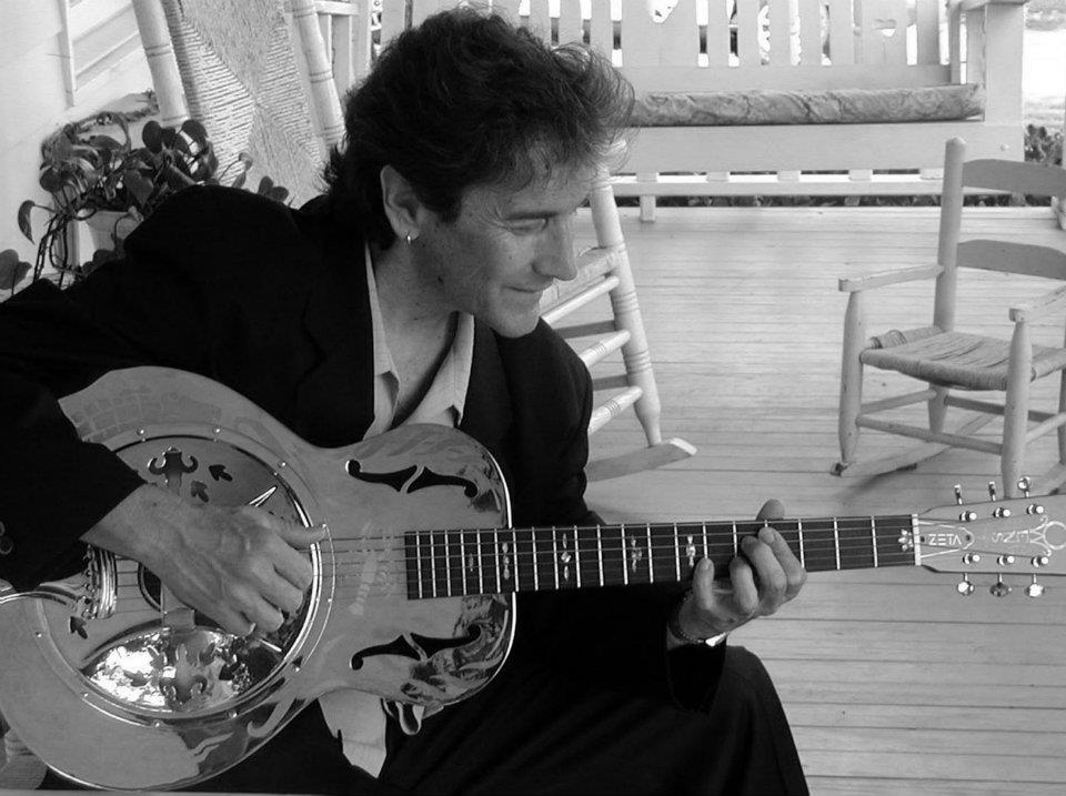 "Owens ""Bayou Resonator"" guitar"