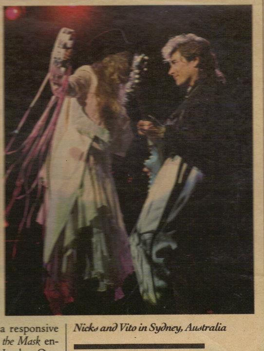 Stevie & Rick in the Paper