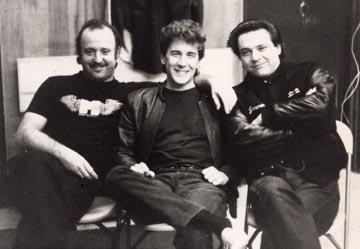 Rick Vito, Jimmie Vaughan, Kim Wilson 1986