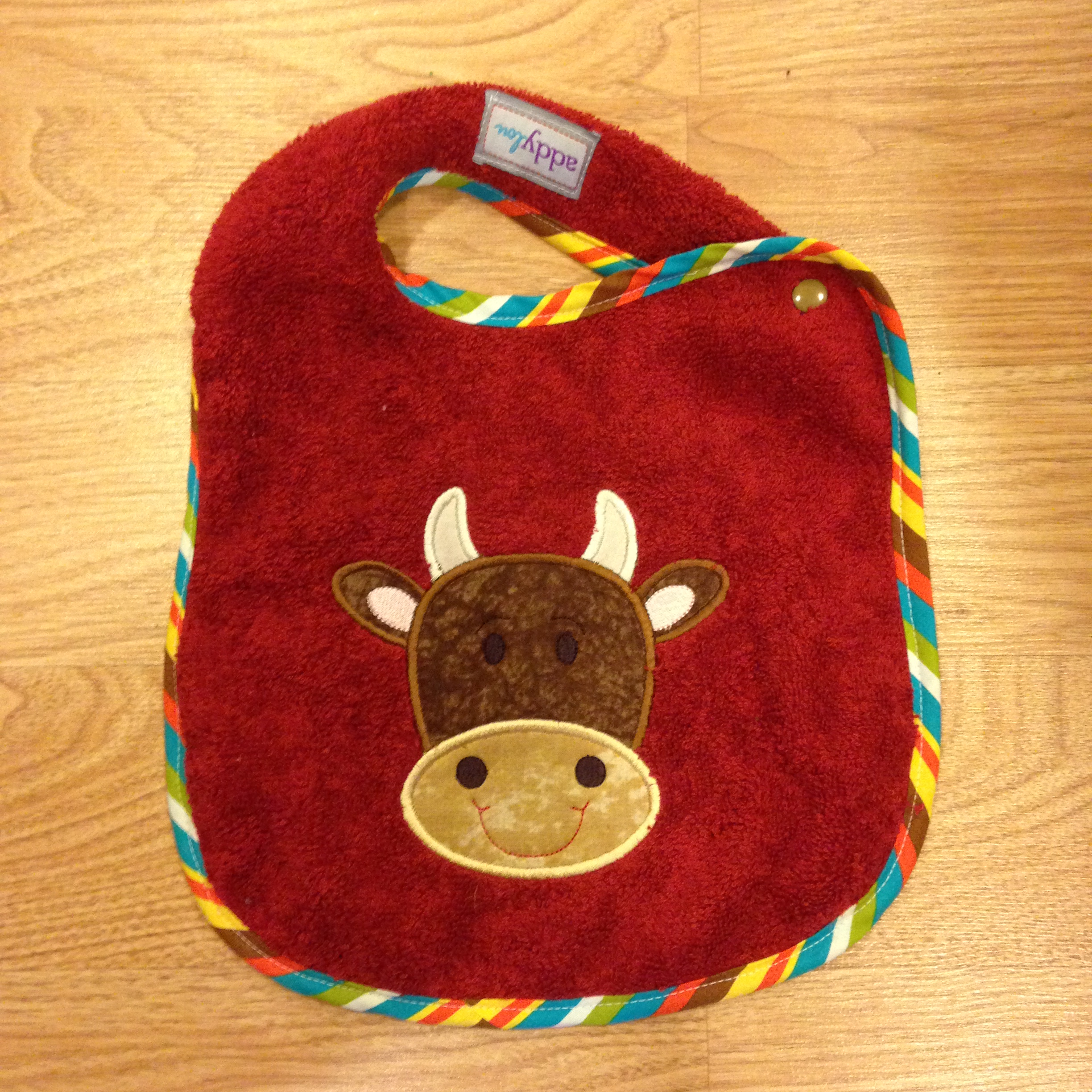 Cow Bib | AddyLou Creates