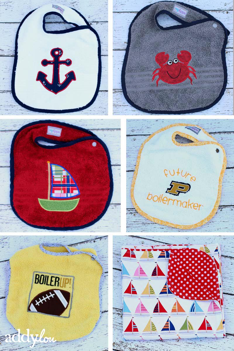 bibs & Blanket | AddyLou Creates