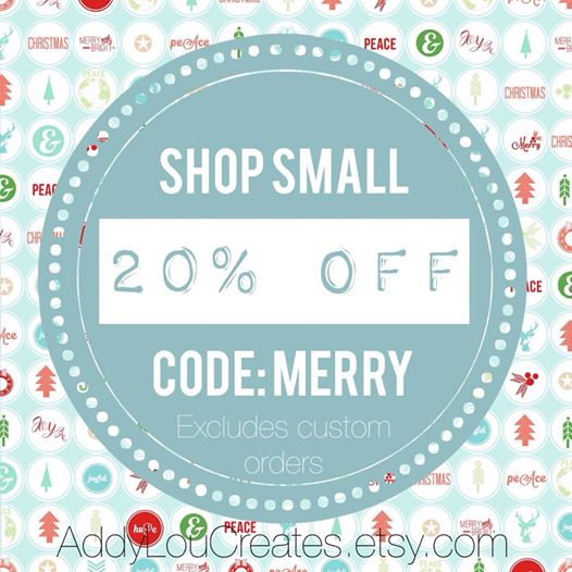 shopsmall2014 ||AddyLou Creates