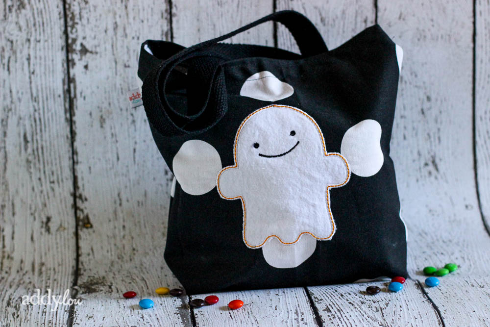 AddyLou Creates - Trick-or-Treat bags | Ghost