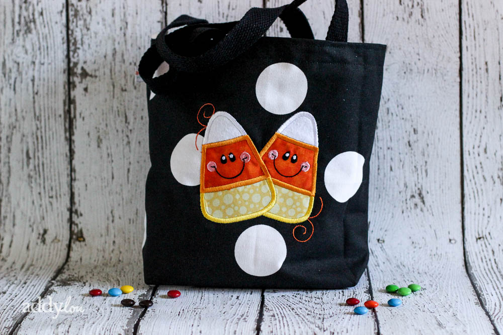 AddyLou Creates - Trick-or-Treat bags | Candy Corn