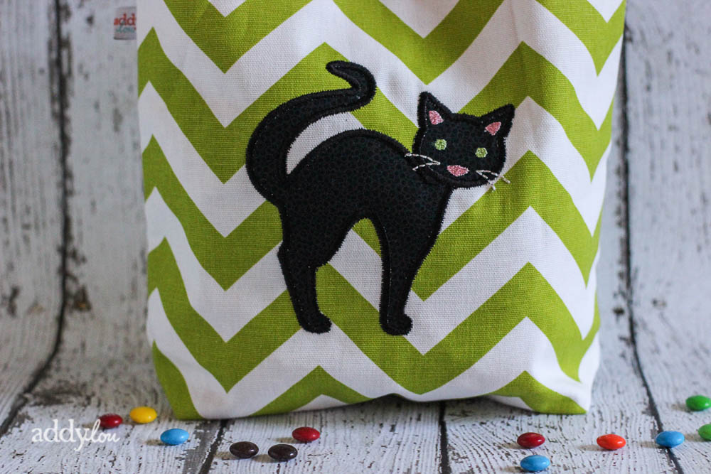 AddyLou Creates - Trick-or-Treat bags | Black Cat