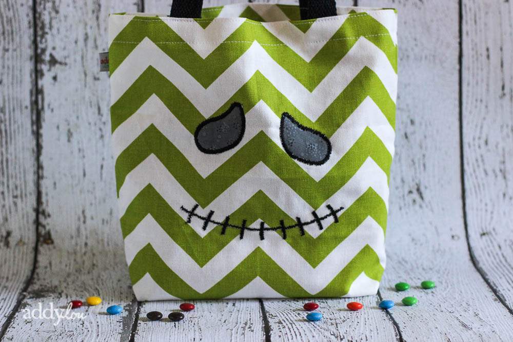 AddyLou Creates - Trick-or-Treat bags | Monster Face