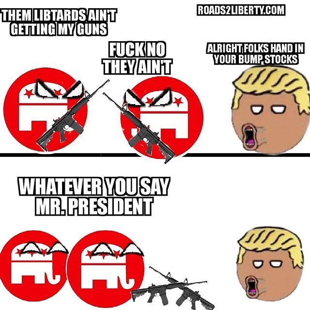 @realdonaldtrump @gop  #GunControl