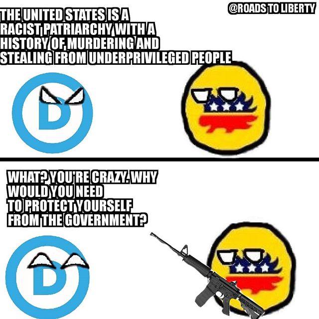 Don't let them disarm you #GunControl  @thedemocrats  #liberty #politics #libertarian #2bdamendment  #constitution