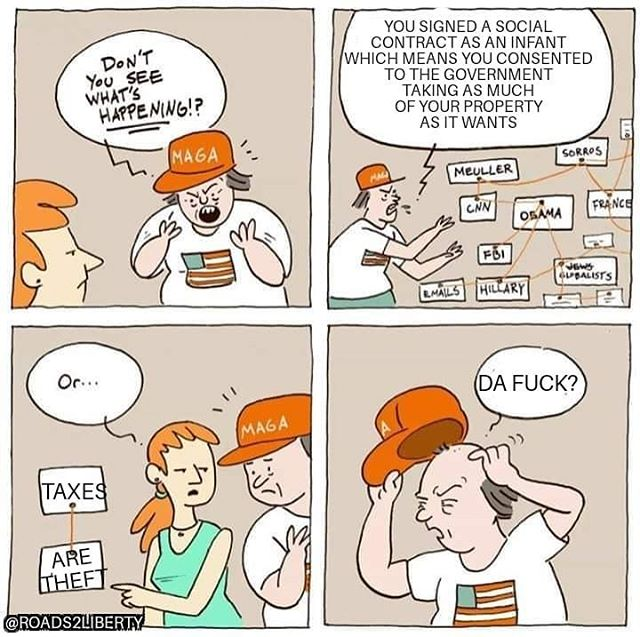 #taxes #taxationistheft  #taxation #maga #trump #libertarian #politics