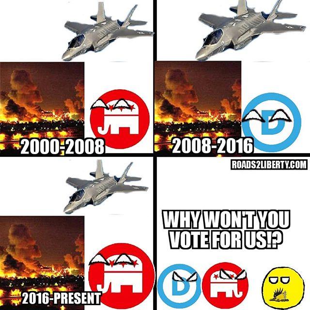#foreignpolicy #republicans #democrats #politics #politicsmemes #libertarianism #libertarian #peace #bringthemhome