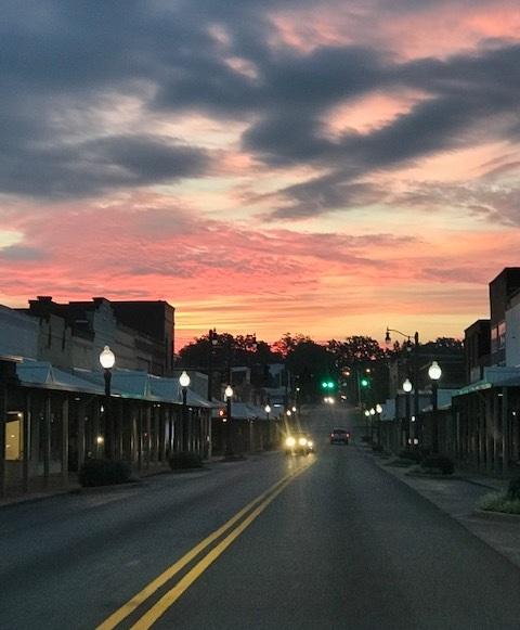 Downtown Hartselle Sunset