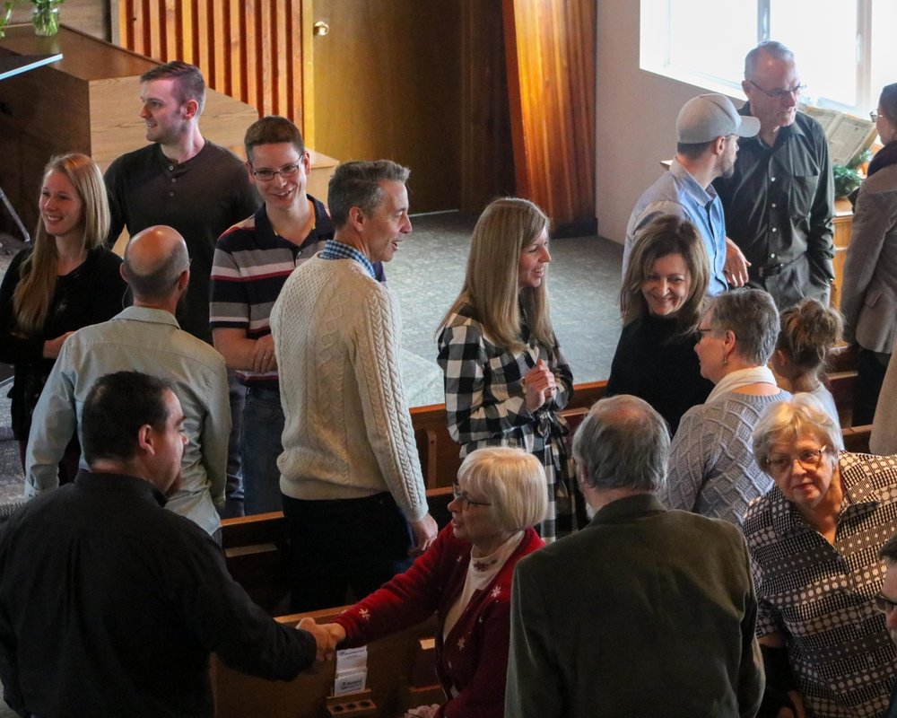 Who is MBC? - We are sinners saved by grace; a multi-generational church united by a desire to know God and to make him known.