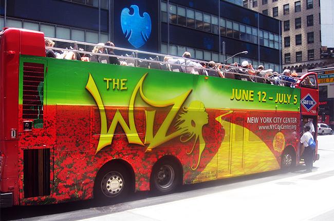 The Wiz – Gray Line Bus Wrap