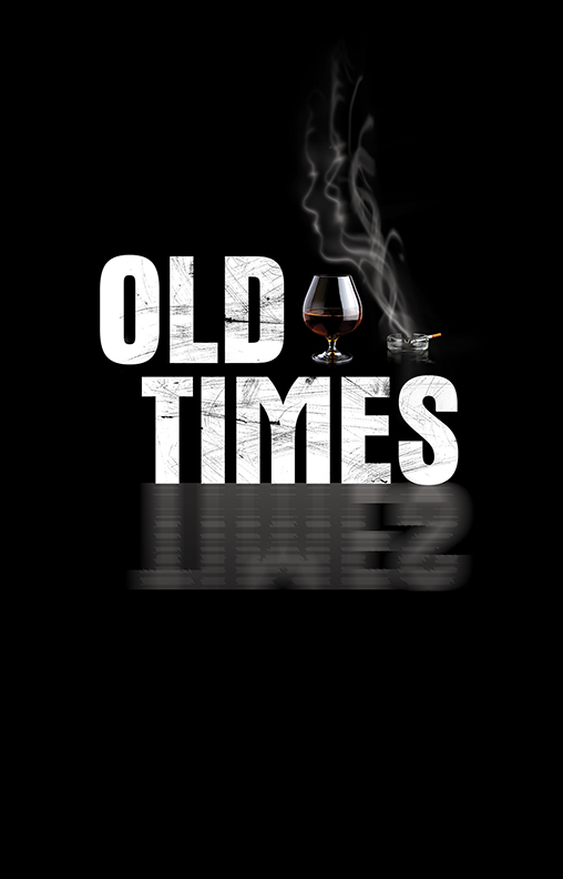 """Old Times  by Harold Pinter (Palm Beach Dramaworks, 2013–2014 Season)  I had the honor of working with the poster legend, Frank """"Fraver"""" Verlizzo on this Palm Beach season. I've always admired his work, so I'm thrilled to be able to call Frank a friend and colleague.  As I was reading the script for  Old Times , all these different visions and ideas started coming to me. Luckily, my favorite one was chosen and I couldn't be more pleased with the final art."""