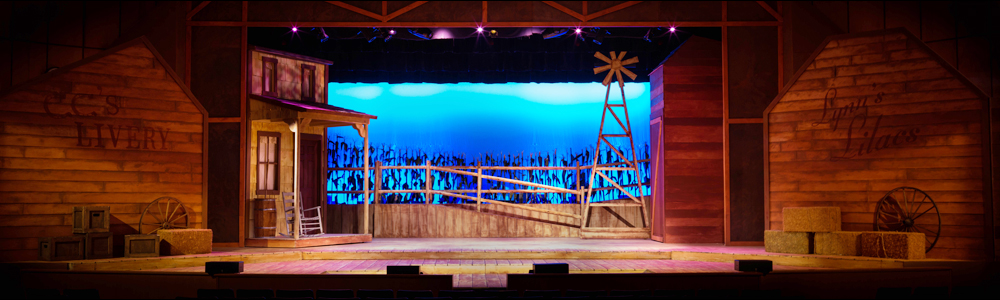 Oklahoma!  2017   (Madison High School) • Scenic Design: Paul Gaschler and Brian Toscano • Lighting Design: Brian Lynch