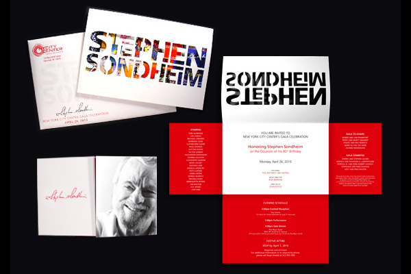 Gala Celebration Honoring Stephen Sondheim