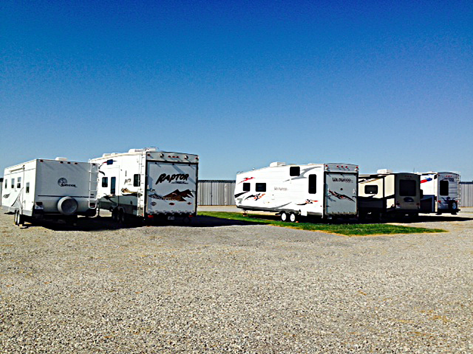 Outside (Uncovered) Storage - Available for RV's, Boats, Trailers, Jet Skis & Vehicles