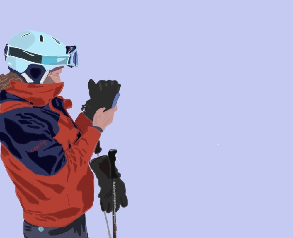 WY skier