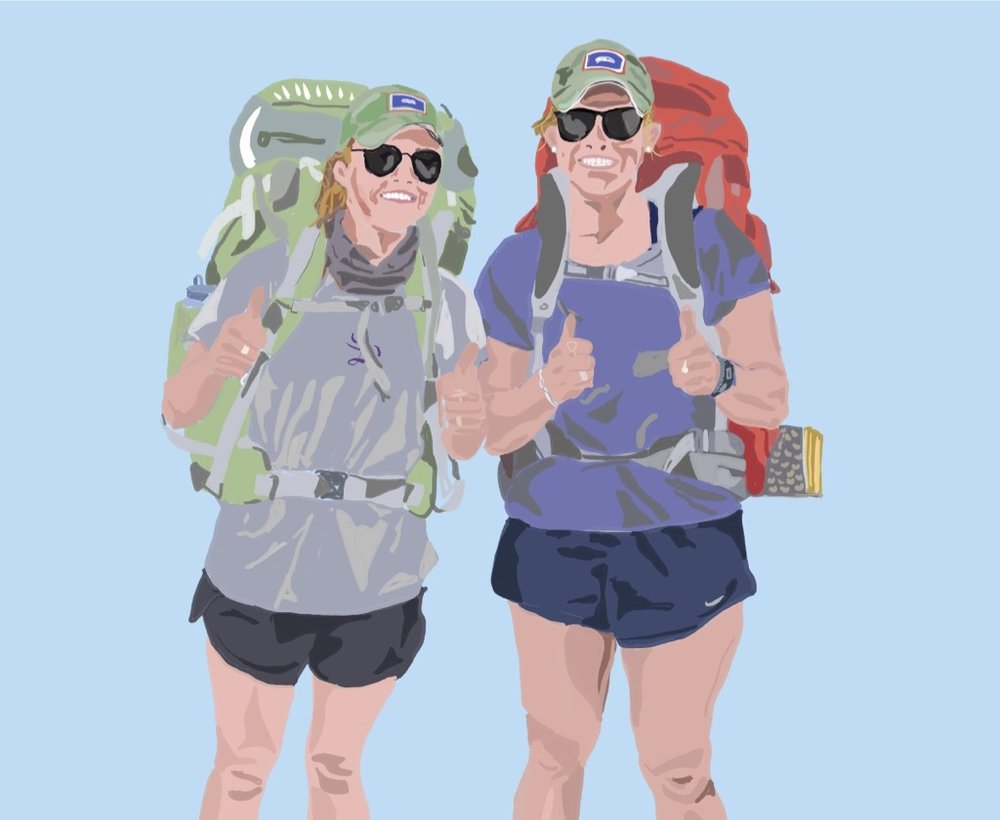 thumbs up for backpacking
