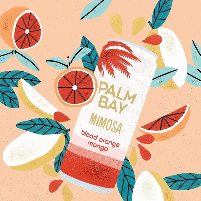 Still keepin' it cool with @palmbayspritz with slices of oranges and mango (sans core)🍊💦
