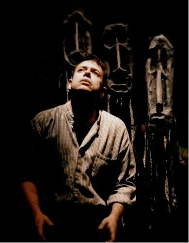 Timothy Newell as Erdemovic at the Alleyway Theatre, Buffalo