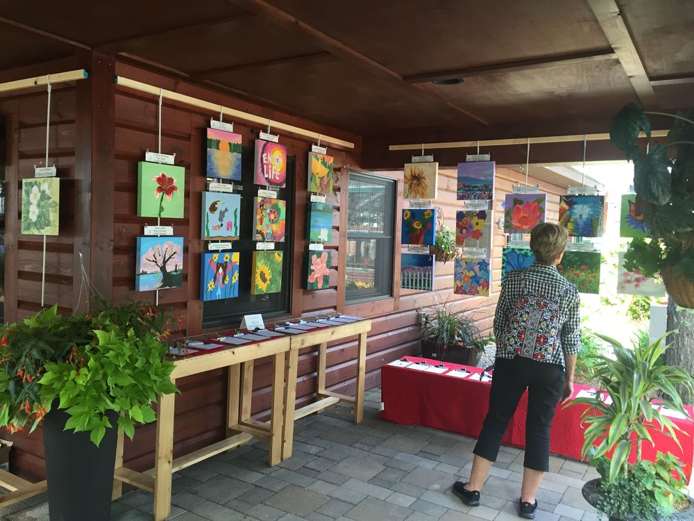 Howard Young Medical Center Fundraiser - Art in the Gardens