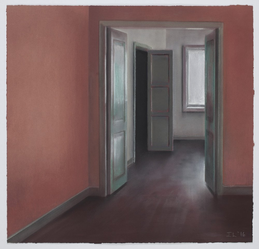 The Room At Least Seems a Little Safe, 2016, 47 x 47 cm
