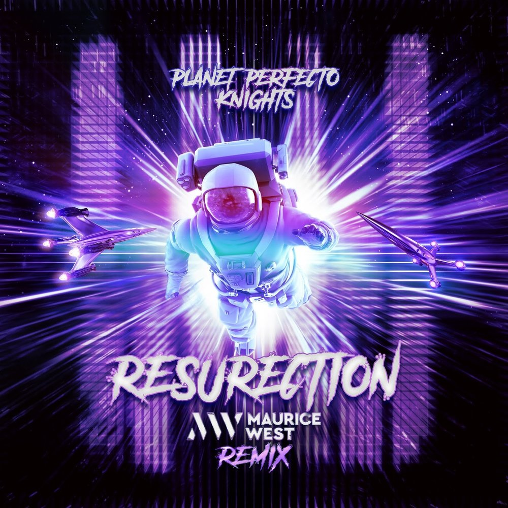 Resurrection (Maurice West Remix) Official Artwork