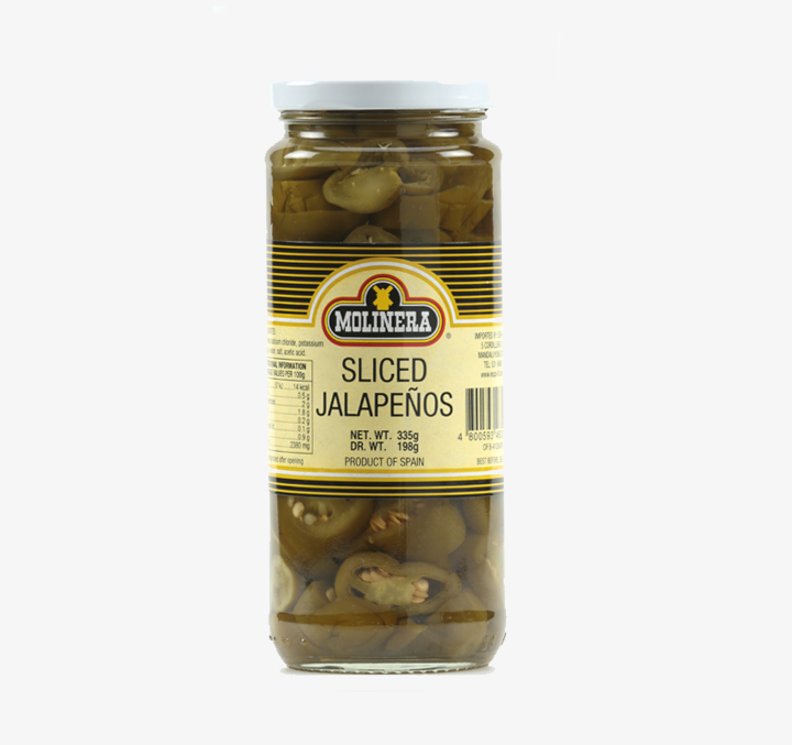Sliced Jalapenos - Size Availability:335g, 935g
