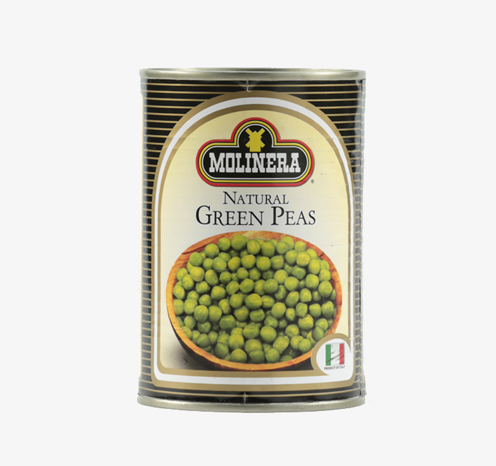 Natural Green Peas - Size Availability: 400g
