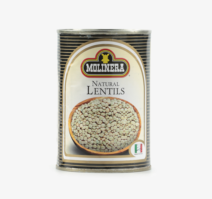 Natural Lentils - Size Availability: 400g