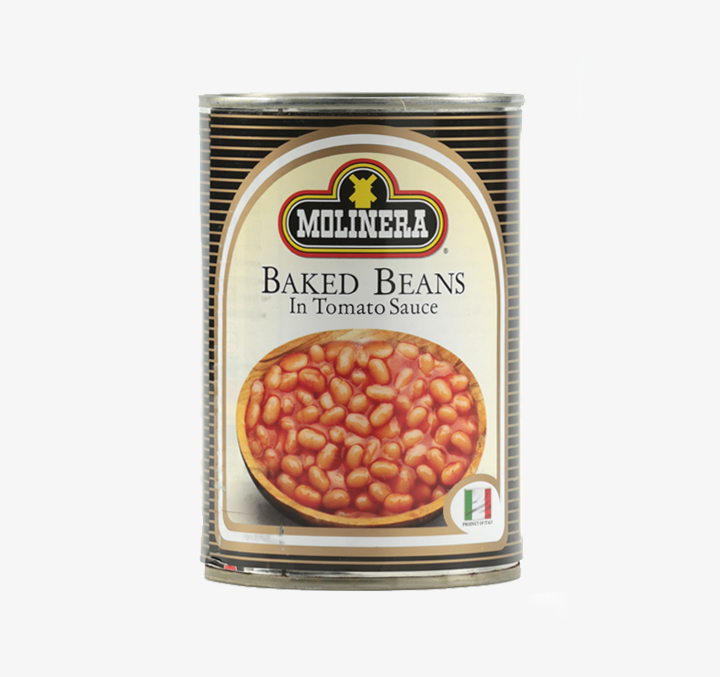 Baked Beans in (in Tomato Sauce) - Size Availability: 400g