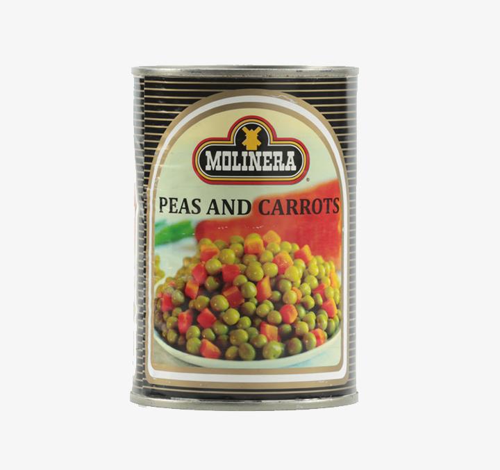 Peas & Carrots - Size Availability: 400g